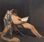 The Reading Girl Theodore Roussel
