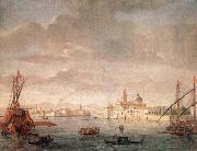 The Island of San Michele, Looking toward Murano WITTEL, Caspar Andriaans van