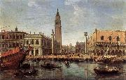 The Piazzetta from the Bacino di San Marco WITTEL, Caspar Andriaans van