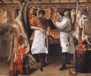 the butcher store Annibale Carracci