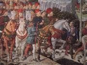 The train of the holy three Konige Benozzo Gozzoli