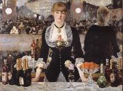 Bar in the foil-Bergere Edouard Manet