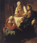 Christ in Maria and Marta JanVermeer