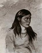 Win-pan-to-mee,The white weasel George Catlin