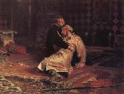 Ivan the Terrible and his Son on 16 November 1581 Ilya Repin