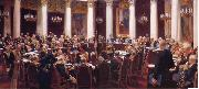 Formal Session of the State Council Held to Hark its Centeary on 7 May 1901,1903 Ilya Repin