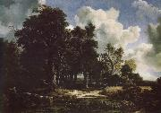 Edge of a Forest with a grainfield Jacob van Ruisdael