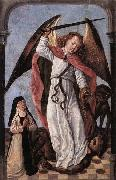St Michael Fighting Demons Master of the Saint Ursula Legend
