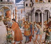 Scenes From the Life of St.Augustine Benozzo Gozzoli