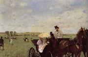A Carriage at the Races Edgar Degas