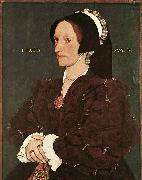 Portrait of Margaret Wyatt, Lady Lee HOLBEIN, Hans the Younger