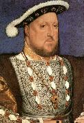 Portrait of Henry VIII HOLBEIN, Hans the Younger