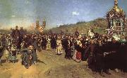 Religious Procession in the Province of Kursk Ilya Repin