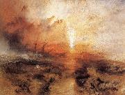 Slavers throwing overboard the Dead and Dying J.M.W. Turner