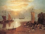 Sun Rising through Vapour J.M.W. Turner