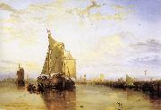 Dort,or Dordrecht,the Dort Packet-Boat from Rotterdam Becalmed J.M.W. Turner