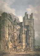 St. Anselm-s Chapel with part of Thomas-a-Becket-s Crown,Canterbury J.M.W. Turner