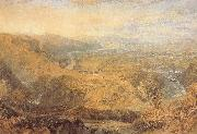 Crook of Lune,Looking Towards Hornby Castle J.M.W. Turner