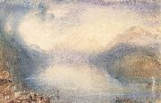 The Bay of Uri from above Brunnen J.M.W. Turner