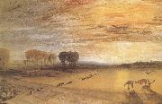 Petworth Park,with Lord Egremont and his dogs J.M.W. Turner