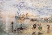 Flint Castle,North Wales J.M.W. Turner