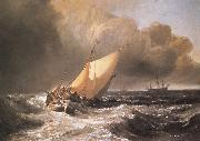 Dutch Boats in a Gale J.M.W. Turner