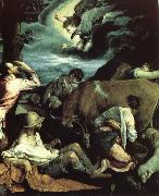 The Annunciation to the Shepherds Jacopo Bassano