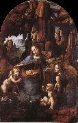 Madonna in the cave LEONARDO da Vinci