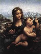 Madonna with the Yarnwinder after 1510 LEONARDO da Vinci
