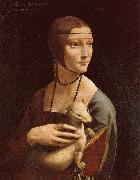 Lady with Ermine LEONARDO da Vinci