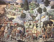 The Procession of the Magi Benozzo Gozzoli