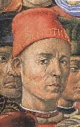 Detail from The Procession of the Magi Benozzo Gozzoli