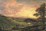View near Stockridge Frederic Edwin Church