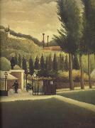 The Customs House Henri Rousseau