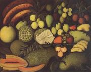 Still Life with Exotic Fruits Henri Rousseau
