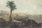 Algiers(General view) Engraving Henri Rousseau