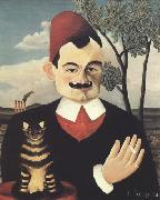 Portrait of Pierre Loti Henri Rousseau