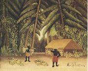 The Banana Harvest Henri Rousseau