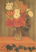 Bouquet of Flowers Henri Rousseau