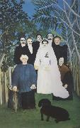 A Country Wedding Henri Rousseau