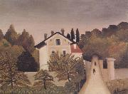 Landscape on the Banks of the Oise Henri Rousseau