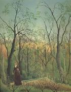 Promenade in the Forest of Saint-Germain Henri Rousseau