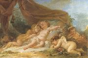 Sleeping Cupid Nicolas-rene jollain