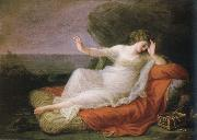 ariadne abandoned by theseus on naxos Angelica Kauffmann