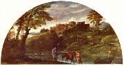 The Flight into Egypt Annibale Carracci