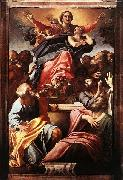 Assumption of the Virgin Mary Annibale Carracci
