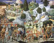 Journey of the Magi to Bethlehem Benozzo Gozzoli