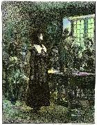Anne Hutchinson on Trial Edwin Austin Abbey