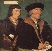 Thomas and his son s portrait of John Hans Holbein