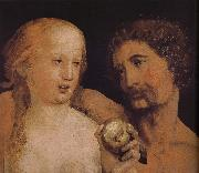Adam and Eve Hans Holbein
